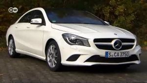 Mercedes CLA 200 im Test (Screenshot: Deutsche Welle)