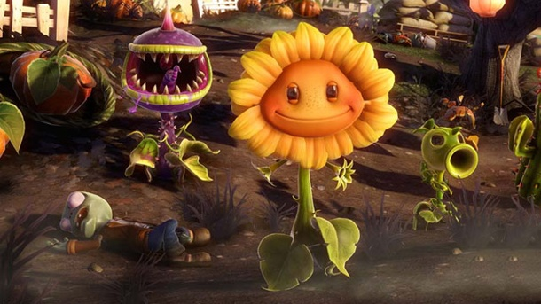 Plants vs. Zombies: Garden Warfare - Playstation-Version angedeutet. Plants vs. Zombies: Garden Warfare Third-Person-Shooter von Popcap für Xbox 360, Xbox One und PC (Quelle: Electronic Arts)