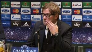 BVB-Trainer Jürgen Klopp. (Screenshot: Reuters)