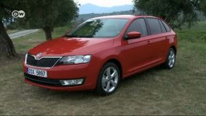 Skoda Rapid Spaceback im Test (Screenshot: Deutsche Welle)