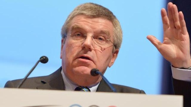 IOC erinnert Athleten an Demonstrationsverbot. Thomas Bach erinnerte die Athleten an das Demonstrationsverbot.