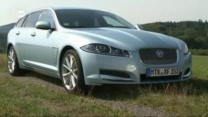 Jaguar FX Sportbrake im Test (Screenshot: Deutsche Welle)