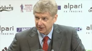 Wenger kritisiert Chancenverwertung (Screenshot: Omnisport)