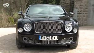 Edel-Limousine Bentley Mulsanne im Test (Screenshot: Deutsche Welle)
