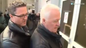 Ralf und Rolf Schumacher besuchen Michael in Klinik (Screenshot: Zoomin)