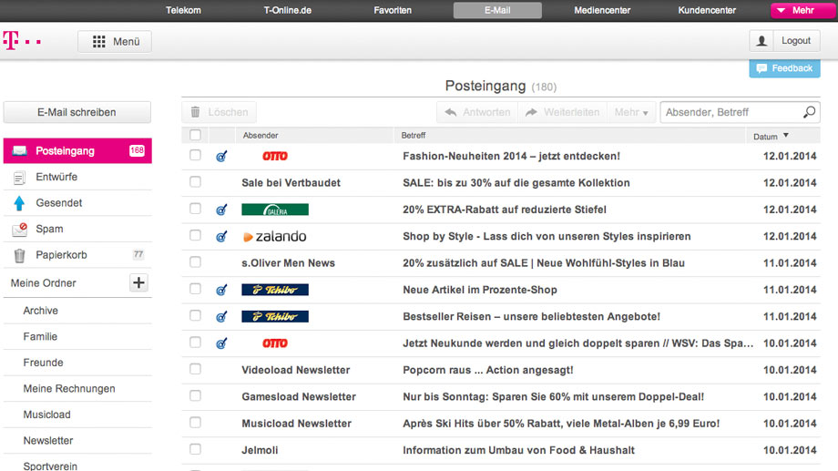 tonline mail