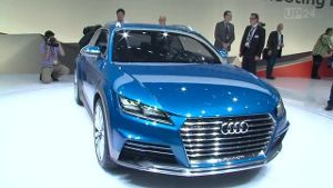 Detroit Motor Show 2014: Audi stellt neue Crossover-Studie vor (Screenshot: United Pictures TV)