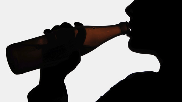 Images Of A Person Drinking Alcohol