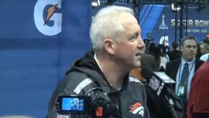 Denver-Coach John Fox. (Screenshot: omnisport)