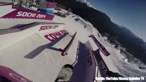 Slopestyle-Parcours in Sotschi zu gefährlich? (Screenshot: Bit Projects)