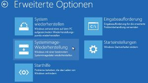 Reparaturfunktionen im Boot-Manager von Windows 8.1