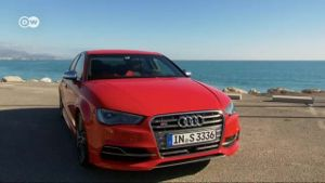 Agiler Sportler: Die Audi S3 Limousine im Test (Screenshot: Deutsche Welle)
