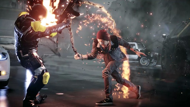 """Infamous: Second Son"" für PS4 im Test: Superheld wider Willen. Infamous: Second Son (Quelle: Sony)"