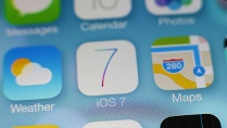 Apple iOS 7 (Quelle: imago/Philipp Szyza)