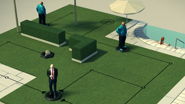 Hitman Go: Mobile-Game mit Agent 47 angekündigt. Hitman Go (Quelle: Square Enix)