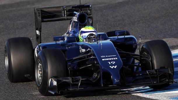 Felipe Massa im Williams (Quelle: imago/Crash Media Group)