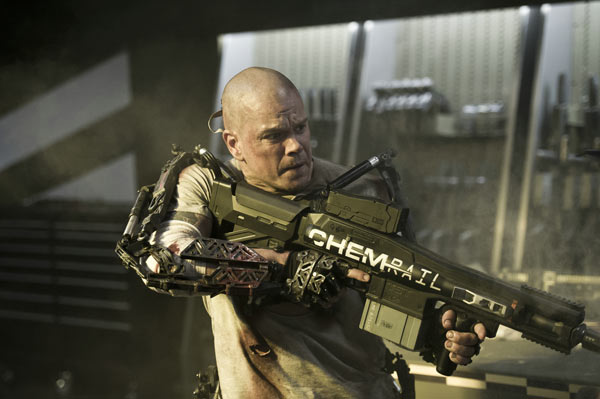 "Science-Fiction und Endzeitfilme: ""Elysium"" (Quelle: Sony)"