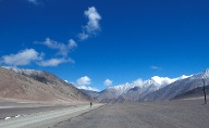 Radfahren im Himalaya. (Quelle: Thinkstock by Getty-Images)