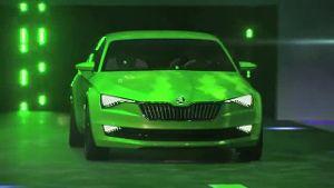 Skoda Vision C: Weltpremiere auf dem Genfer Auto-Salon (Screenshot: news2do)