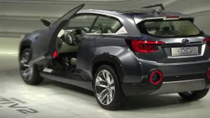 Subaru zeigt Crossovermodell Viziv 2 in Genf (Screenshot: news2do)