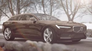 Volvo stellt in Genf Concept Estate vor (Screenshot: t-online.de)
