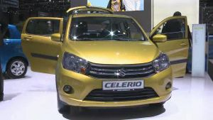 Europapremiere für Suzuki Celerio in Genf (Screenshot: Car News)
