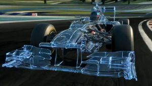 Der Red-Bull-Bolide in der Animation. (Screenshot: Red Bull)