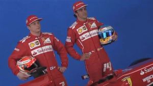 Ein Team, zwei Alpha-Tiere: Räikkönen vs. Alonso (Screenshot: news2use)