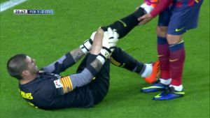 Primera Division: Highlight FC Barcelona vs. Celta de Vigo (Screenshot: LAOLA1.tv)