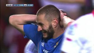 Primera Division: Real Madrid stolpert beim FC Sevilla (Screenshot: LAOLA1.tv)