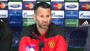 United-Legende Ryan Giggs hofft vor dem CL-Viertelfinale. (Screenshot: kicker.tv)