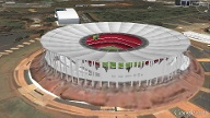 """Estádio Nacional"" in Brasilia (Quelle: Screenshot: T-Online.de)"