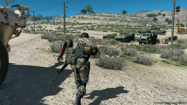 Metal Gear Solid 5: The Phantom Pain -  Das Open World-Szenario wird limitiert. Metal Gear Solid 5: The Phantom Pain (Quelle: Konami)