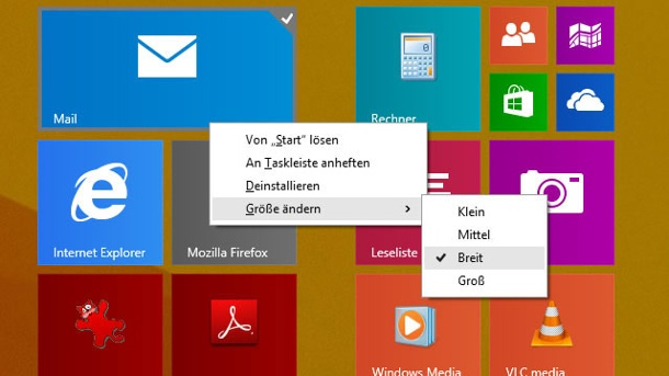 Windows 8.1 Update 1: Das kann das neue Windows. Desktop-Screen von Windows 8.1 Update 1 (Quelle: t-online.de)