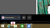 Neue Taskbar in Windows 8.1 (Quelle: t-online.de)