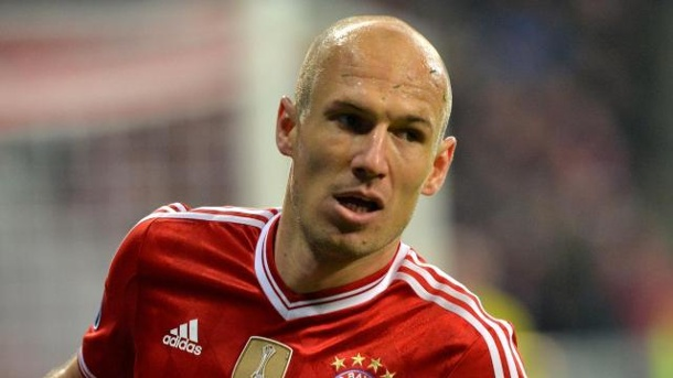 Champions League 2014: Robben spricht FCB Favoritenrolle ab. Bayern-Star Arjen Robben schiebt die Favoritenrolle weg.