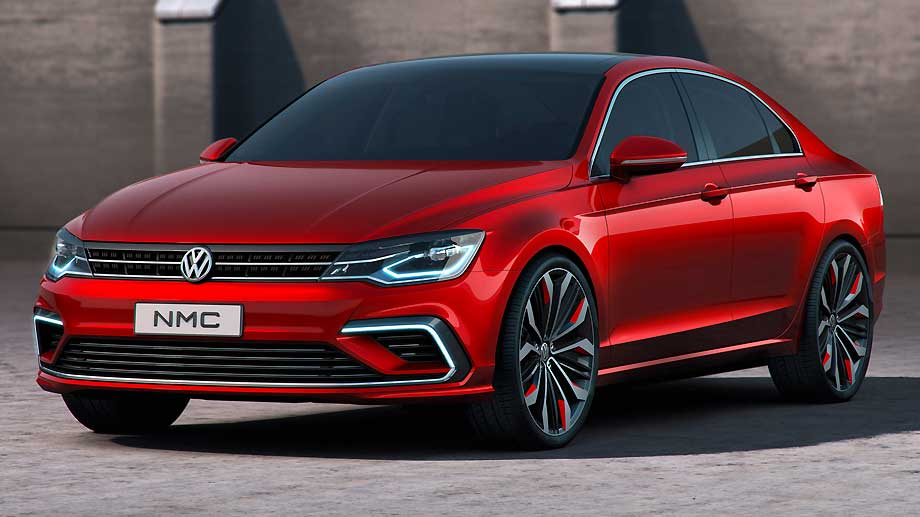 VW New Midsize Coupé (Quelle: Hersteller)