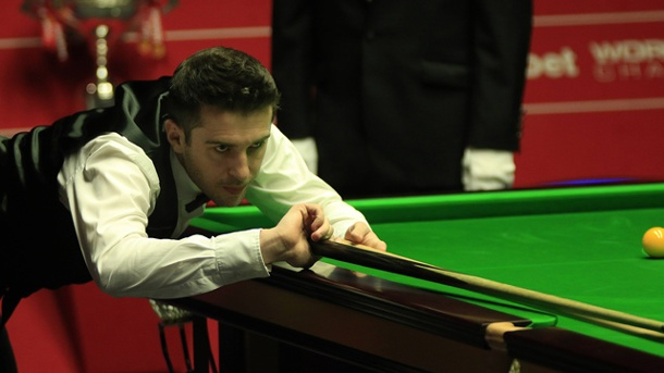 Snooker-WM 2014: Mark Selby entthront Ronnie O'Sullivan. Mark Selby ist neuer Weltmeister im Snooker. (Quelle: imago/Michael Cullen)
