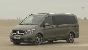 Die neue Mercedes V-Klasse im Test (Screenshot: Car News)