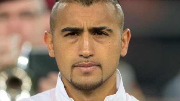 Knie-Operation bei Chile-Star Vidal. Chile-Star Arturo Vidal wurde am Knie operiert.