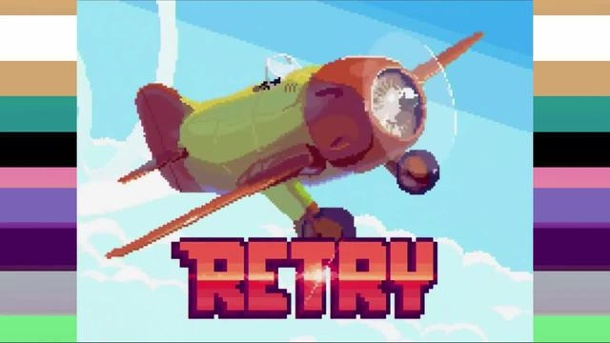 "Rovio fliegt los: Die Angry Birds-Macher eifern ""Flappy Bird"" nach. Retry (Quelle: Rovio)"