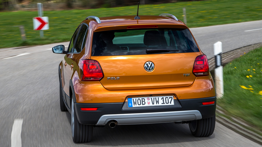 VW Cross Polo (Quelle: Martin Meiners / Volkswagen AG)