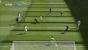 Real Madrid besiegt Espanyol Barcelona mit 3:1 (Screenshot: laola.tv)