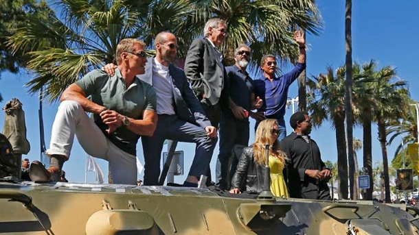 ". ""The Expendables 3"": Die Action-Opas erobern Cannes  (Quelle: Reuters)"