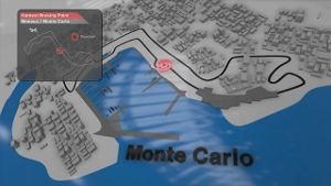 Der Monaco-GP in der Animation. (Screenshot: news2use)