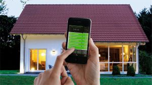 Smart Home-Streuerung