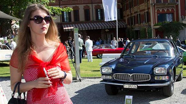 Concorso d'Eleganza Villa d'Este 2014: Das Auto-Paradies am See (Quelle: Press-Inform)
