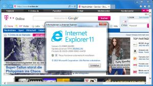Internet Explorer 11 für Windows 7
