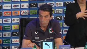 Der italienische Keeper Gianluigi Buffon. (Screenshot: omnisport)