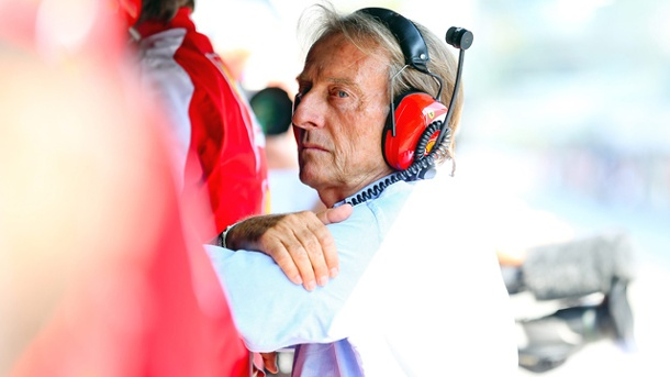 Ferrari-Boss Luca di Montezemolo hakt die Formel-1-Saison bereits ab. Sorgenvoller Gesichtsausdruck: Ferrari-Boss Luca di Montezemolo denkt bereits an die Saison 2015. (Quelle: imago/Crash Media Group)